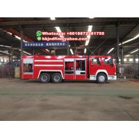 Buy Sinotruck HOWO 6X4 Water tank/ water foam fire truck sell Philippines at wholesale prices