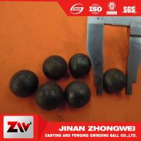 Quality ISO9001 2008 Hot rolling steel balls for ball mill for cement , Mine and power plant for sale