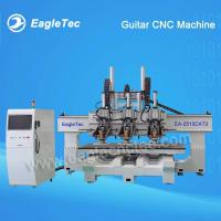 Three Head ATC CNC Router for Guitar Making Working Size 2500x1300mm for sale