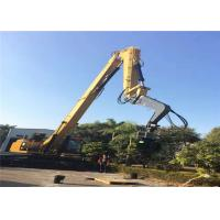 China Q345 Material Excavator Vibro Hammer With Long Boom For Steel Plate Pile Driver on sale