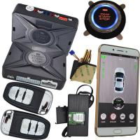 Quality 2 Way Smartphone Car Alarm System With Security Gps Tracking Location Keyless Go Start for sale