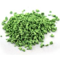 Quality Wear Resistant Artificial Grass Rubber Granules , Rubber Pellets On Football Fields for sale