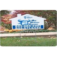 China Indoors Outdoors Coroplast Sheet Coroplast Signs With Full Color Printing on sale