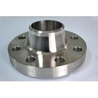 China Long Weld Neck Duplex Stainless Steel Flanges ASTM A182 F316Ti LWN Flange B16.5 on sale