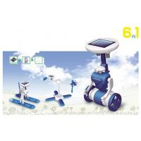 China Educational Solar Robots 6 In 1 , DIY Robot Kit For Kid Present on sale