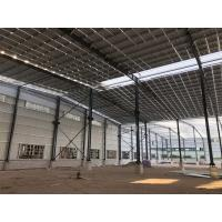 Quality C Section Large Span Steel Structures , Pre Engineered Steel Structures for sale
