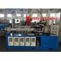 Quality Common Cold Feed Rubber Sheet Extruder , Rubber Granulator MachineAlloy Steel Screw for sale