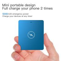 Quality 2 In 1 USB Power Bank Iphone Internal Battery 5000mAh High Capacity Fast Charger 5v 2a for sale