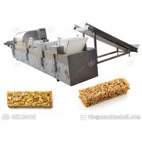 China Commercial High Fiber Cereal Bars Machine Forming Puffed Rice With Progressive Technology on sale