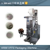 Quality Intelligent controlled sealing round pocket black tea bag packing machine for sale