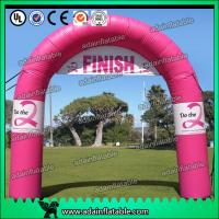 Quality Pink Inflatable Arch for sale