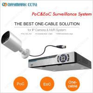 Plug and Play PoC&EoC Video Surveillance System