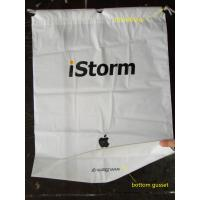 Colorful CPE / LDPE Plastic Printed Drawstring Bags For Toys / Gift