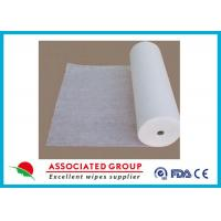 Quality 50% Viscose Healthy Non Woven Cloth Cross Lapping Soft Hygeian White for sale