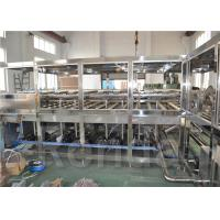 Automated Water Filling Machine / 5 Gallon Bottle Filling Machine Electric Driven
