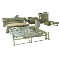 China Polyester Wadding Production Line Quilt Auto Filling Line 110kw 3400mm on sale