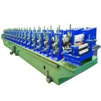 Quality Steel Profile Roll Forming Machine Small Power Loss 55KW Main Power for sale