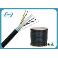 Quality Outdoor FTP Cat6 LAN Cable Heavy-Duty Al Foil Shielding Double Jacket Cables for sale