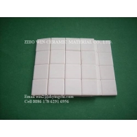 Buy cheap 92% alumina weldable tile wear resistant ceramic lining from wholesalers