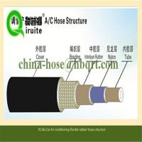 China AC REPAIR air conditioning system R134a SAE J2064 Automotive Air conditioning hose on sale