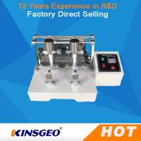 60 CPM Leather Testing Machine Leather Wet And Dry Friction Decolorizing Tester
