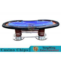 Quality Pea - Type Table Design Custom Casino Craps Table For Poker Casino Games for sale