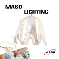 Indoor Resin pendant lamp MS-P1048 One Lamp Source LED Replacable Light Source