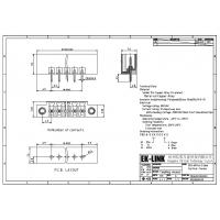 Quality F83-6-3.5 Pitch 3.5mm Plug for Pluggable Terminal Block for sale