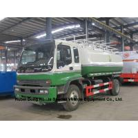ISUZU oil tanker trucks 16T with Good Quality  fuel pump transport or refuling  oil, diesel, gasoline, kerosene,