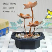 Buy Portable Indoor Table Water Fountain For Home Decoration , Leaf Design  25 X 14 X 28 Cm at wholesale prices