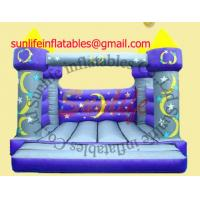 Quality inflatable 0.55mm pvc tarpaulin jumping castle BO048 for sale