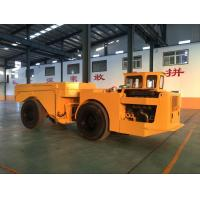 Buy cheap Easy Operation Low Profile Dump Truck 15 Tons For Underground Mining Project from Wholesalers