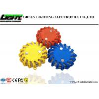 Quality Rechargeable Flare LED Warning Light 9 Modes Crushproof IP67 For Vehicles / Boat for sale