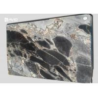 Quality Blue Galaxy Marble Slab High Hardness , Marble Paving Slabs Glossy Polished for sale