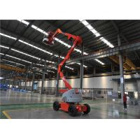Quality Diesel Straight Boom lift 40% Gradeabilit 75L Auxiliary Reservoir Capacity for sale