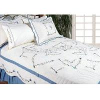 Buy cheap Allcotton computer embroidery quilt from Wholesalers