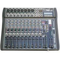 China Powered Mixer 12 Channels 2 x 120W Class-D powered mixer with USB, SD SLOT, DISPLAY on sale