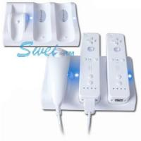 Quality Wii Accessory Wii non-connection double charge station for sale