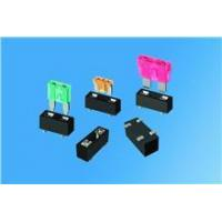 Quality 2-in-1 auto blade fuse holder incorporates SMT production for sale