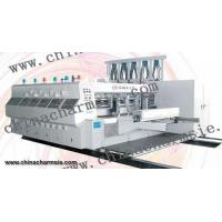 Quality LX-608 Full computerized high speed flexo printing slotting & die cutting machine for sale