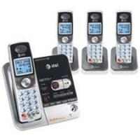 AT&T See details AT&T TL72408 5.8 GHz Four Handset Cordless Telephone with Answering System and Caller ID