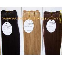 Quality Hair Extension Hand tied Weft hair Products for sale