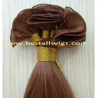 Quality Weft / Weaving Hair Extension Hand tied Weft hair Products for sale