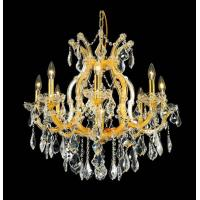 Quality 8+1 Lights maria theresa crystal chandelier gold finish for sale
