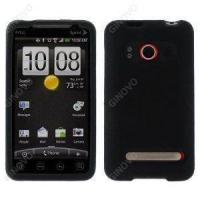 China Black Silicone Case Cover for HTC EVO 4G on sale
