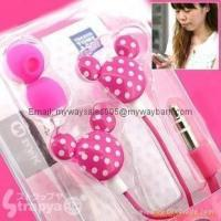 China Wholesale Mickey earphone for mp3/mp4 player on sale