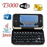 Buy cheap Qwerty Java TV WiFi Rotate Flip T3000 Cell Phones from wholesalers