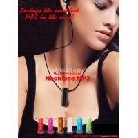 China Zicplay Microkey Necklace MP3 Player touch-button on sale