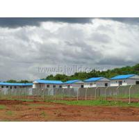 China Prefabricated Building B Type House-House for Project Campsite on sale