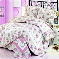 Buy cheap Embroidered quilted bed cover from Wholesalers